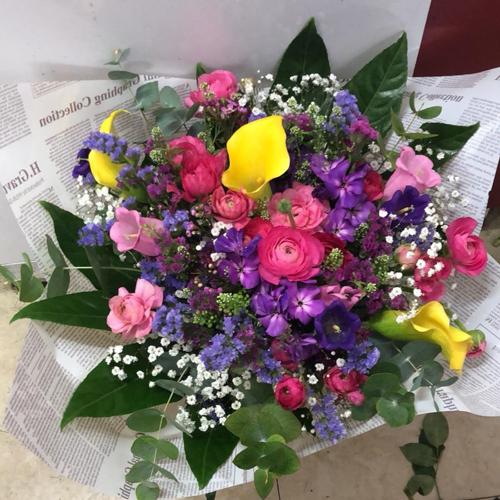 זר פרחים 5