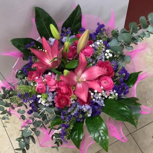 זר פרחים 6