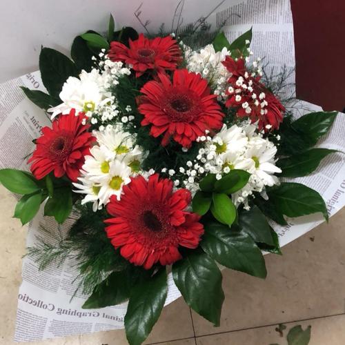 זר פרחים 7
